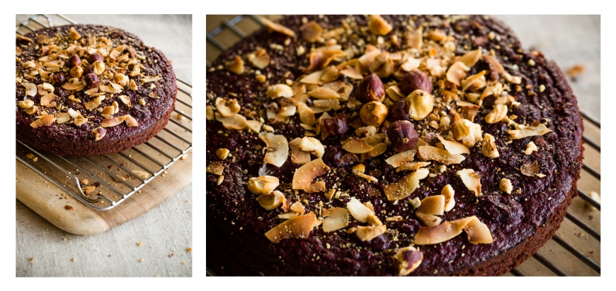 paleo chocolate beetroot cake