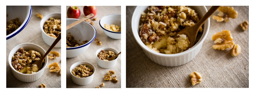 apple crumble story