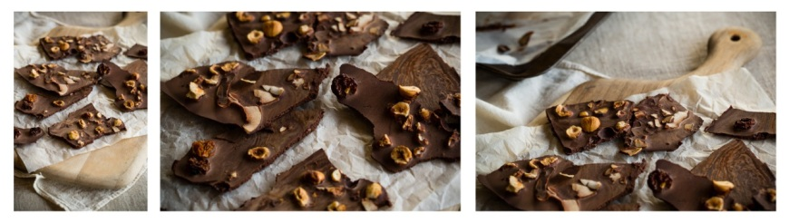 Raw chocolate bark story1