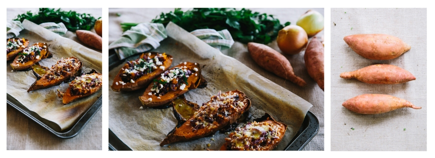 Baked stuffed sweet potato story