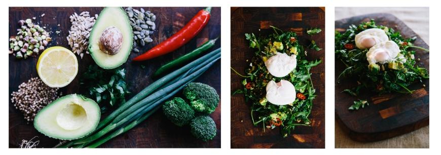 The Life Holistic kale egg breakfast