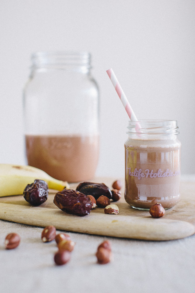 chocolate hazelnut smoothie